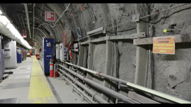 cigeo project, a nuclear laboratory and underground storage facility site operated by national agency for radioactive waste management , in bure,... - toxic waste stock videos & royalty-free footage