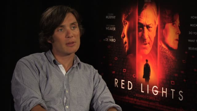 cillan murphy on what he learnt from sigourney weaver and robert de niro at red lights interview at premier pr offices on june 11 2012 in london... - sigourney weaver stock videos & royalty-free footage