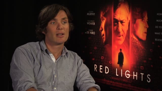 cillan murphy on working with sigourney weaver and robert de niro at red lights interview at premier pr offices on june 11 2012 in london england - sigourney weaver stock videos & royalty-free footage