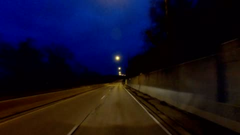 cincinnati v synched series front view driving process plate night - twilight stock videos & royalty-free footage