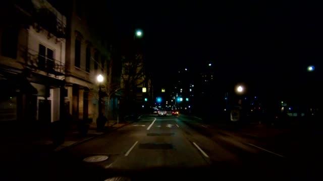 vídeos y material grabado en eventos de stock de vista de frontal serie xix cincinnati sincronizados conducir proceso placa noche - asfalto