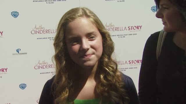 cinderella at the the premiere of warner premiere's another cinderella story at los angeles ca - cinderella stock videos & royalty-free footage