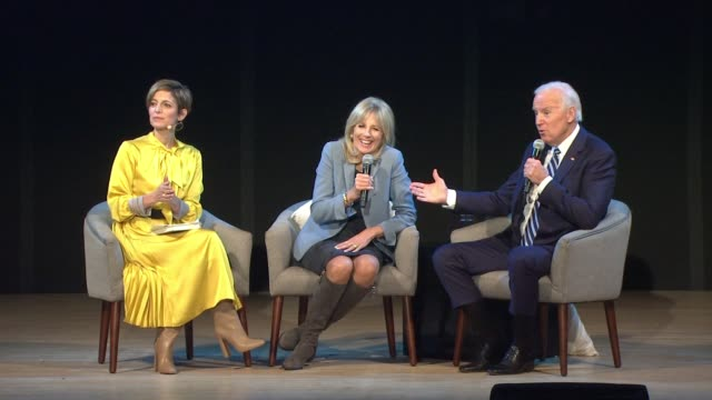 SPEECH Cindi Leive Dr Jill Biden and Joe Biden at Glamour's Women Of The Year LIVE Summit at Brooklyn Museum on November 13 2017 in New York City