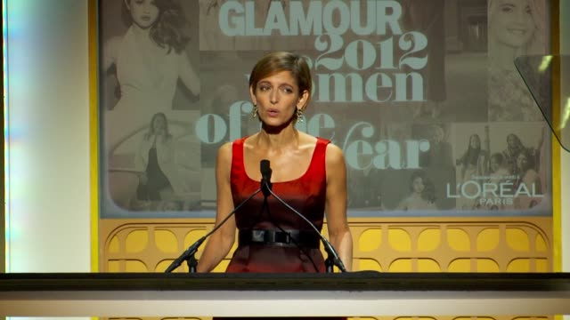 Cindi Leive welcomes everyone to the event and talks about the women honored in the past at Glamour Magazine's 22nd Annual Women Of The Year Awards...