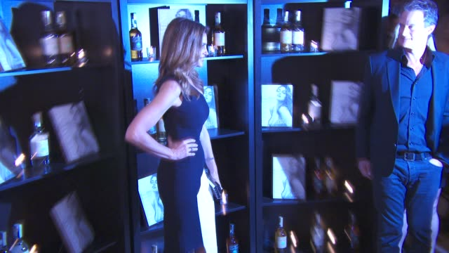 cindy crawford at casamigos tequila and cindy crawford - book launch party at the beaumont hotel on october 01, 2015 in london, england. - cindy crawford stock videos & royalty-free footage