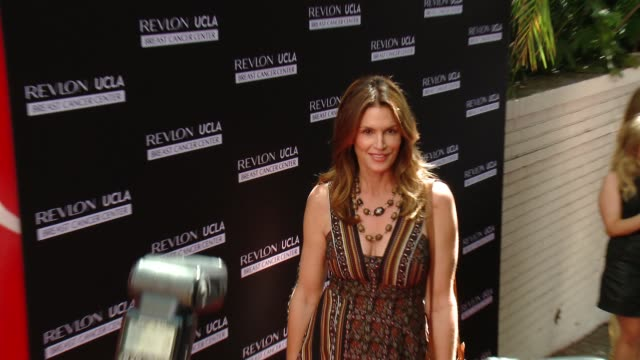 Cindy Crawford at Revlon's Annual Philanthropic Luncheon in Los Angeles CA