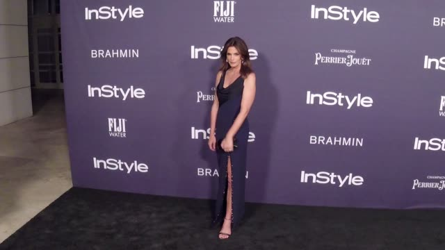 cindy crawford at the 3rd annual instyle awards on october 23, 2017 in los angeles, california. - cindy crawford stock videos & royalty-free footage