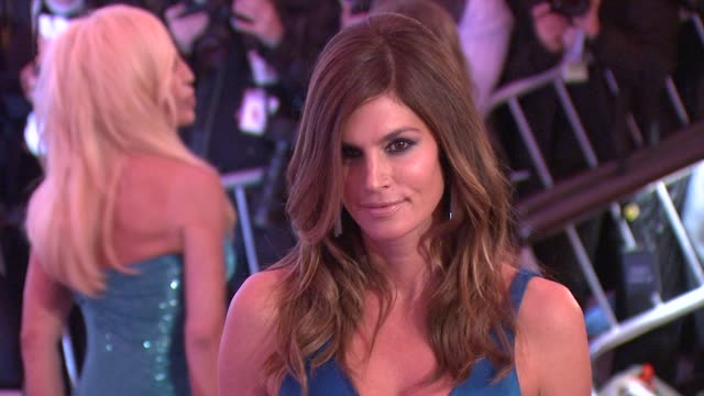 cindy crawford at the 'the model as muse: embodying fashion' costume institute gala at the metropolitan museum of art - arrivals at new york ny. - cindy crawford stock videos & royalty-free footage