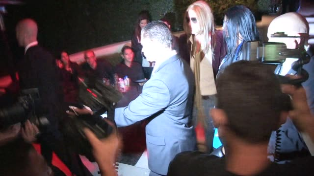 Cindy Crawford Rande Gerber as Cher Kurt Cobain depart a Halloween Party in Casamigos Tequila in Beverly Hills in Celebrity Sightings in Los Angeles