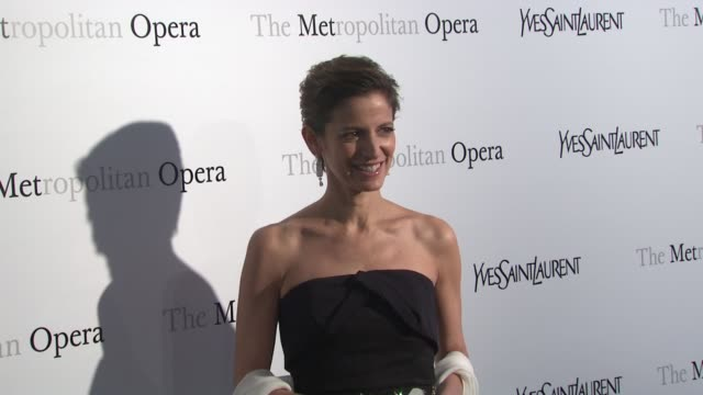 Cindy Levy at Metropolitan Opera Gala Premiere Of Jules Massenet's Manon at The Metropolitan Opera House on March 26 2012 in New York New York