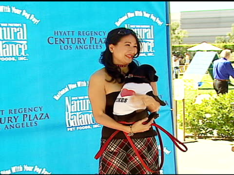 cindy lu at the dine with your dog day at the hyatt regency century plaza in century city, california on october 19, 2006. - hyatt regency stock videos & royalty-free footage
