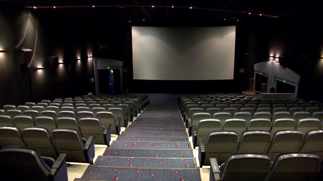 cinema auditorium - armchair stock videos & royalty-free footage