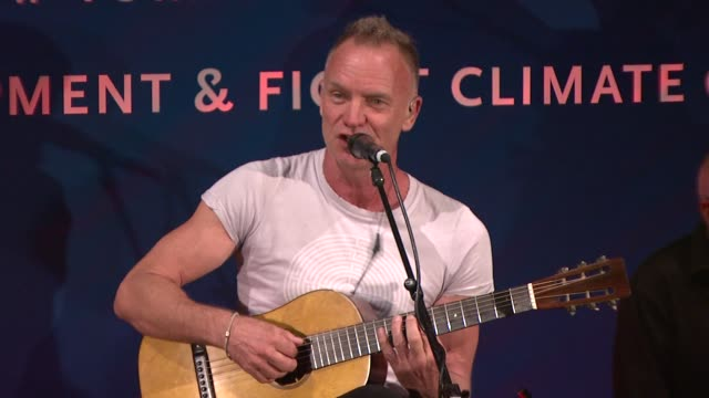 cinema for peace new york 2012 gala honoring sting, trudie styler & the rainforest fund with 'green oscar' at the harvard club on september 25, 2012... - trudie styler stock-videos und b-roll-filmmaterial