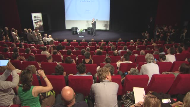 ATMOSPHERE Cinema Masterclass with Clint Eastwood on May 21 2017 in Cannes France
