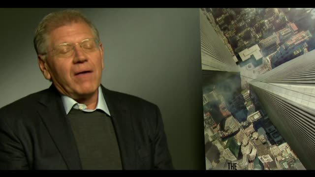 new imax projection system announced as cinema fights against mobile media robert zemeckis interview sot technology will save the cinema reporter - robert zemeckis stock videos and b-roll footage
