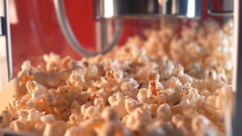 cinema style popcorn machine - popcorn stock videos & royalty-free footage