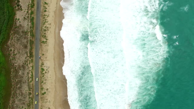 cinemagraph beach aerial view - florida usa stock videos and b-roll footage