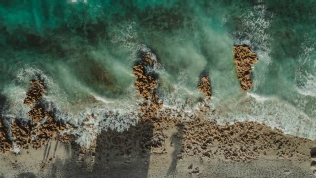 cinemagraph beach waves - panoramic stock videos & royalty-free footage