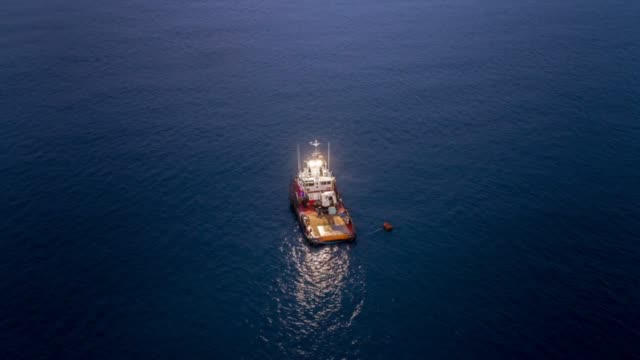 cinemagraph boat alone - fishing industry stock videos & royalty-free footage