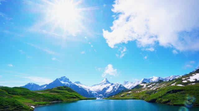 Cinemagraph van Bachalpsee-First Grindelwald-Zwitserland