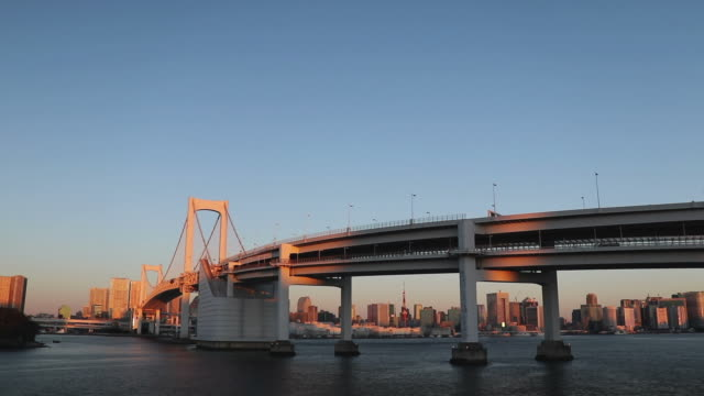 cinemagraph - rainbow bridge at surface level - yuko yamada stock videos & royalty-free footage