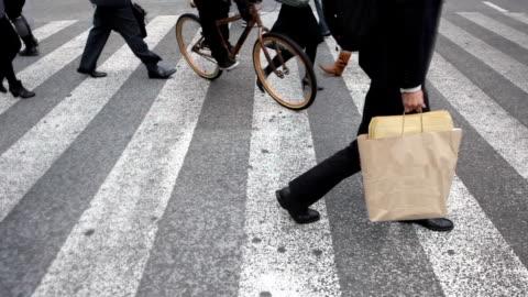 vídeos y material grabado en eventos de stock de hd-cinemagraph tokio cruce de shibuya - paso peatonal vías públicas