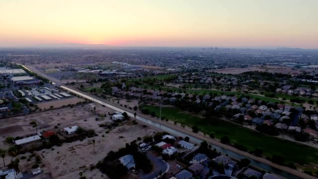 Cinematic Southern Phoenix at Sunset
