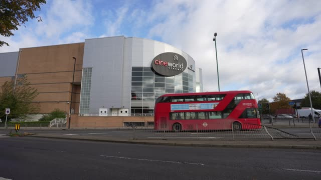 cineworld closes all uk and us cinemas on october 06, 2020 in london, england. the movie theatre chain confirmed closure of 127 cinemas in the united... - film industry stock videos & royalty-free footage