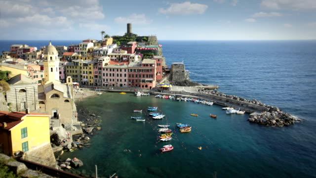 チンクエテッレ,イタリア - イタリア点の映像素材/bロール