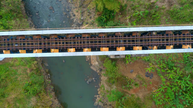 cirahong rail bridge - railway bridge stock videos & royalty-free footage