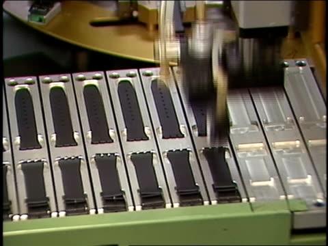 circa 1990's switzerland - wrist watch stock videos & royalty-free footage