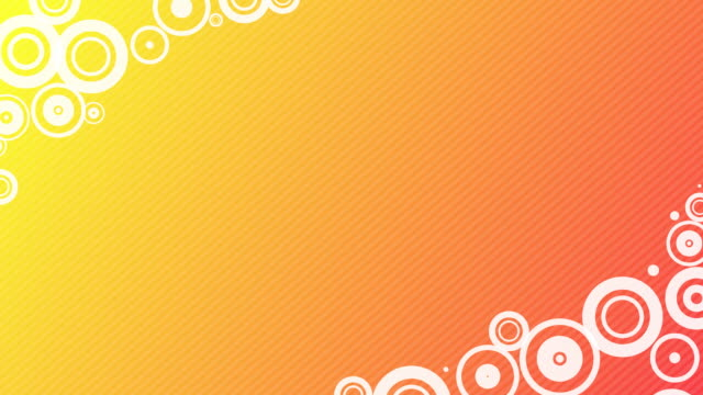circle corners hd (orange/yellow) - pinstripe stock videos & royalty-free footage