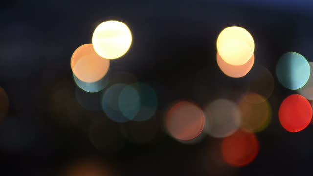 Circle light background