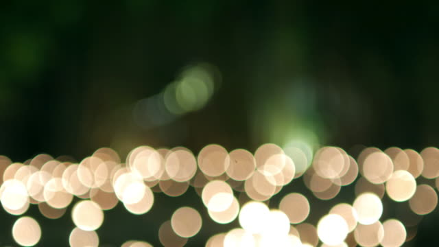 Circle light bokeh background