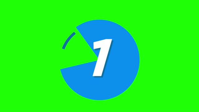 4k circle markers with number set with pie chart. modern bullet points on green screen - number 3 stock videos & royalty-free footage
