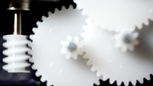 circle of rotating gears - motor stock videos & royalty-free footage