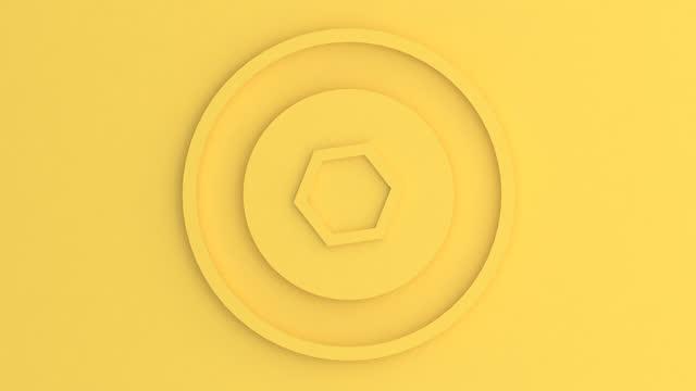 vídeos de stock, filmes e b-roll de círculo girando - gráficos de movimento