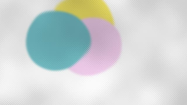 Circle Shapes Floating