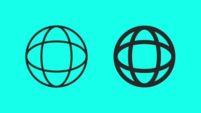 vídeos y material grabado en eventos de stock de círculo de giro - vector animado - vector