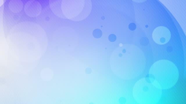 サークルとウェイブズループのイブニングブルー(hd - 美しい人点の映像素材/bロール
