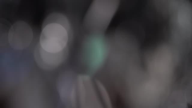 circles bokeh rotation - hummingbird stock videos and b-roll footage