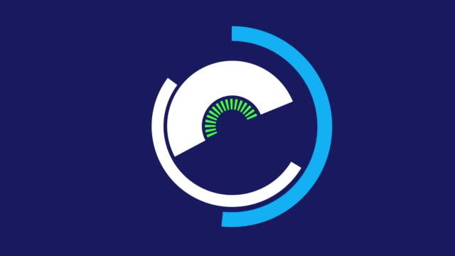 Circles Video transition