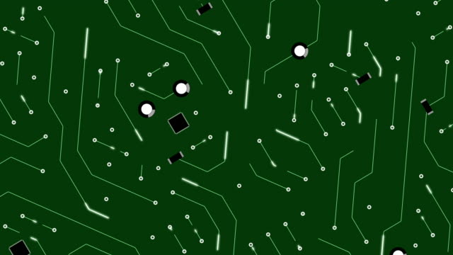 Circuit Board Animation