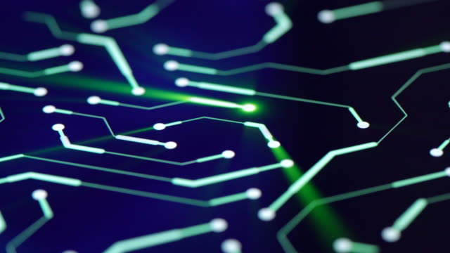 circuit board background close-up - electronics industry stock videos & royalty-free footage
