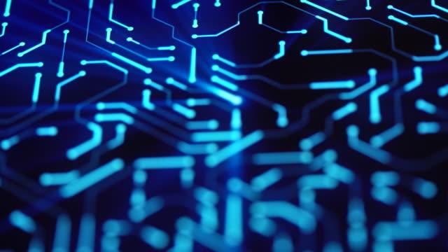 vídeos y material grabado en eventos de stock de primer plano de fondo de placa de circuito - virus