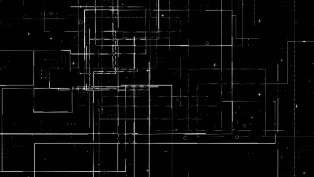 circuit board background - blueprint stock videos & royalty-free footage