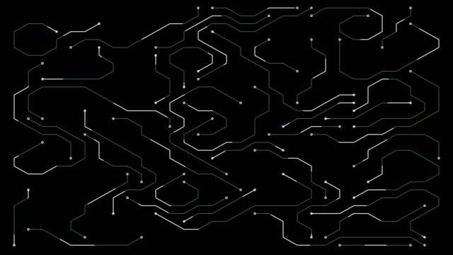 circuit board design element - design element stock videos & royalty-free footage