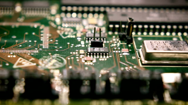 circuit board tech 4 - circuit board stock videos & royalty-free footage