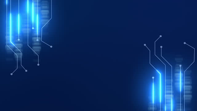 circuit board technology, neon light conduct the electricity power. - backgrounds stock videos & royalty-free footage