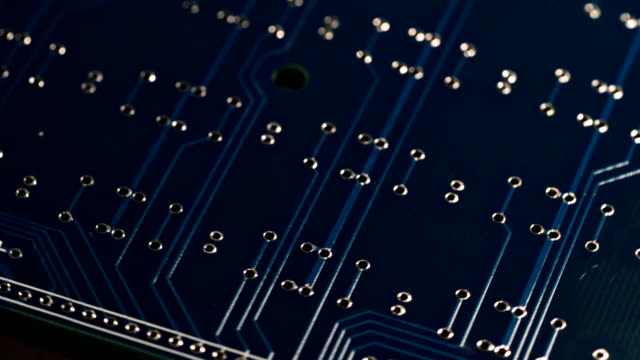 circuit board - computer chip stock videos & royalty-free footage